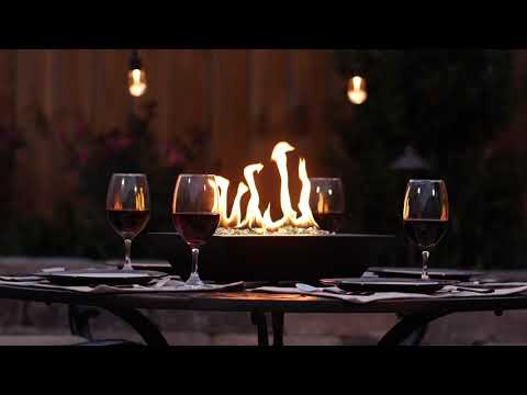 BBQGuys Signature Series Flame Westfalen Table-Top Fire Pit-Black