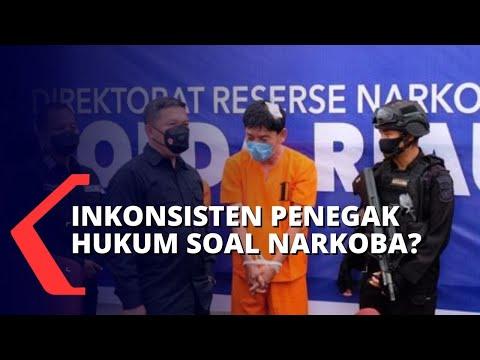 granat hukuman tidak konsisten buat pengedar narkoba tak kapok