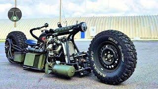 ✅8️⃣  Crazy Homemade Vehicles & Great INVENTIONS