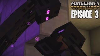 BECOMING AN ENDERMAN! | Minecraft: Story Mode [Episode 3: The Last Place You Look]