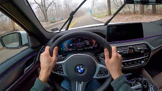 [WR Magazine] 2021 BMW 540i xDrive M Sport - POV Test Drive by Tedward (Binaural Audio)