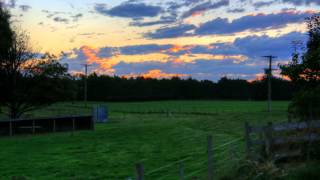 preview picture of video 'Canterbury Sunset - Timelapse'