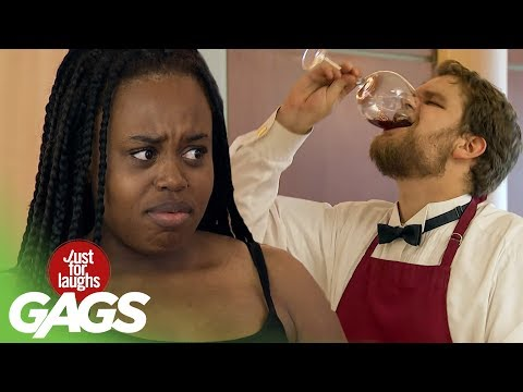 Funny Video – Drinking Strangers SPIT Prank!