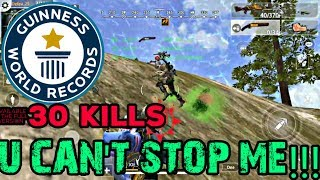 30 KILL TOP PRO PLAYER IN HOPELESS LAND