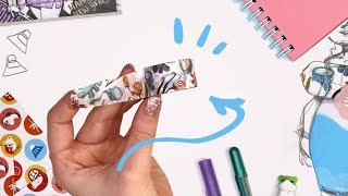 DO YOU SEE IT!? | Making Art with New Year's Japanese Art Supplies | ZenPop!