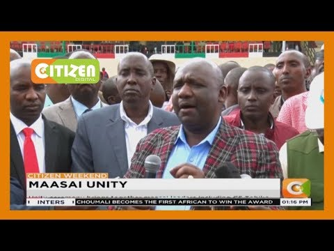 Unity ceremony brings together Maasai leaders including CS Tobiko