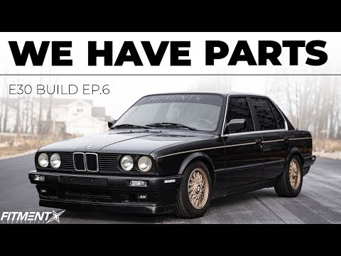 BMW E30 Build | Our Parts Finally Showed Up!!!