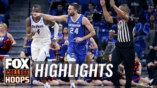 Mitch Ballock leads Creighton past DePaul with 19 points, 6 rebounds | FOX COLLEGE HOOPS HIGHLIGHTS