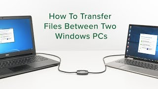 How to Transfer Files Between Two Windows PCs