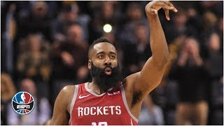 James Harden drops another triple-double in Rockets' win vs. Grizzlies | NBA Highlights