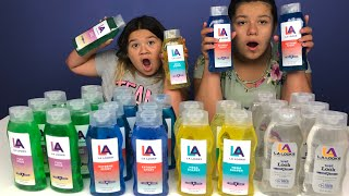 Don't Choose the Wrong Hair Gel Slime Challenge