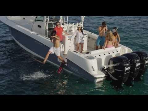 Boston Whaler 350 Outrage video