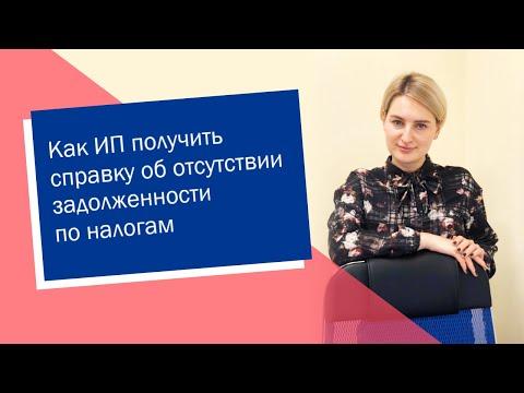 Как ИП получить справку об отсутствии задолженности по налогам (ИП/РФ)