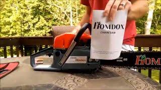 Descargar MP3 de Homdox 20 Inch 52cc 2 Stroke Gas Powered Chain Saw