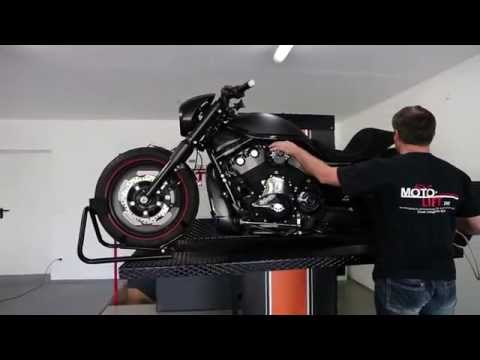 Moto Lift Custom - Hebebühne für Motorräder www.moto-lift.de