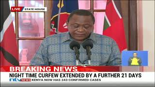 Selected hotels and eateries to be opened after adherence to health guidelines - Uhuru