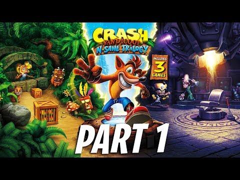 NOLSTAGIA GAME! Zaman Kanak Ribena! - CRASH Bandicoot™ (Malaysia) N.Sane Trilogy ''PART 1''