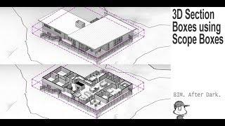 Revit Tip   3D Section Boxes Using Scope Boxes