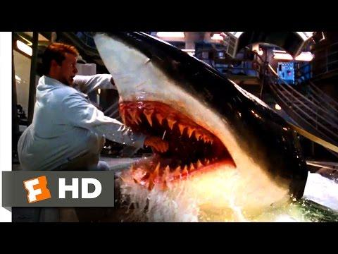 Deep Blue Sea - Jim Is Bitten Scene (3/10) | Movieclips