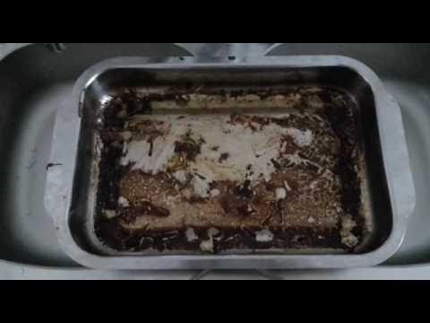 Limpiar bandejas de horno quemadas ¡Muy fácil! | Dunia Santiago