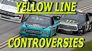 The Yellow Line Rule (Top 5 Controversial Finishes)