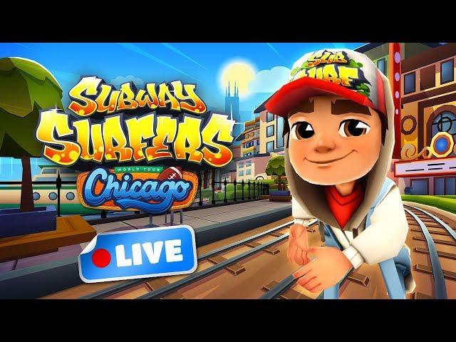 Subway Surfers World Tour 2018 - Chicago Gameplay Livestream