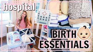 WHAT'S IN MY HOSPITAL BAG FOR LABOR AND DELIVERY! WHAT TO PACK FOR HOSPITAL BIRTH 2019