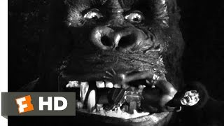 King Kong (1933) - Capturing Kong Scene (6/10) | Movieclips