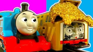 Thomas Trackmaster Over-Under Tidmouth Bridge The Great Race & Toy Train Crash