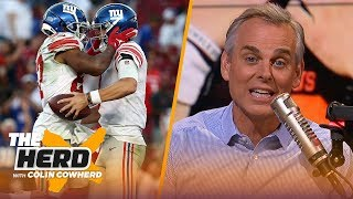 Browns are simply living up to expectations, what Daniel Jones has that Eli doesn't | NFL | THE HERD
