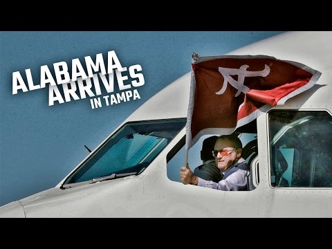 Alabama Arrives in Tampa for CFP Championship