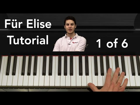 How to Play Für Elise by Beethoven Piano Tutorial Part 1 of 6