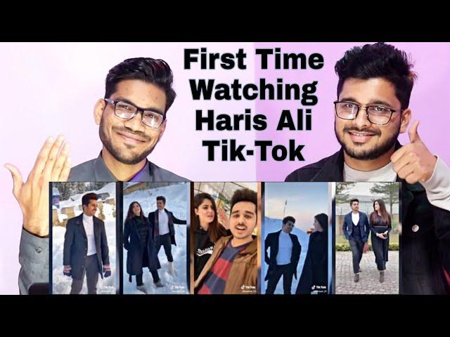 Indian Reaction On Best Of Haris Ali Tik Tok Videos | Haris Ali Couple Tik Tok Reaction