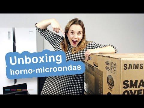 Unboxing de Microondas con Horno Samsung Smart Oven