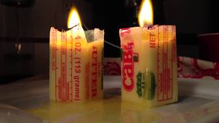 Butter Candle Time Lapse