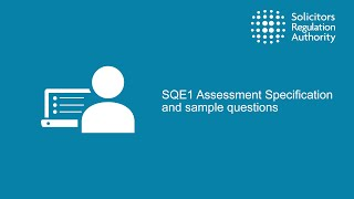 SQE1 Assessment Specification and sample questions