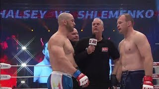 Брэндон Хэлси vs Александр Шлеменко, тизер боя, M-1 Challenge 79
