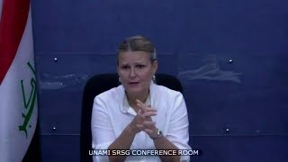 Lise Grande (UNAMI) on the situation in Iraq - Press Conference (17 July 2017)