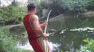 Как правильно вязать экран для рыбалки