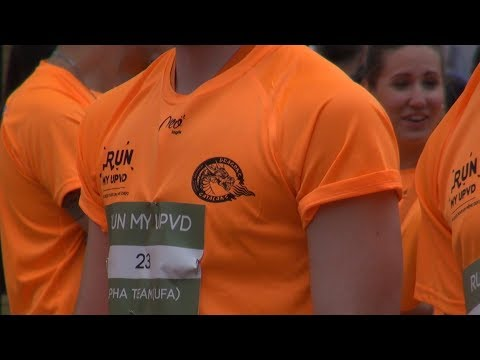 Vidéo des Dragons Catalans du Run my UPVD avec Emma et Impoo