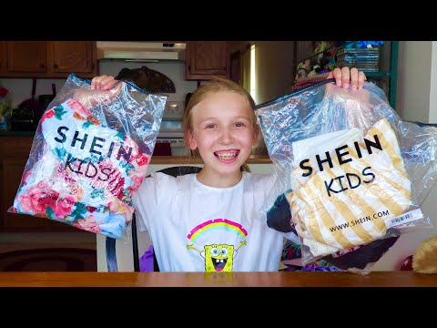 SHEIN Kids Try-On Haul | Affordable Clothing Haul | Back to School Haul