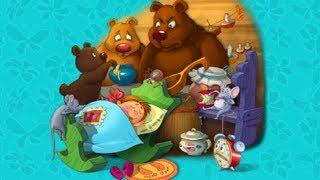 """""""Три медведя"""" #2 Веселые сказки для детей. Сказки народов мира.Рассказы с красочными картинками 2019"""
