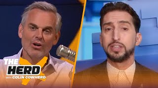 Edelman is not a Hall of Famer, talks Nets defense and Mac Jones to 49ers? — Nick Wright | THE HERD