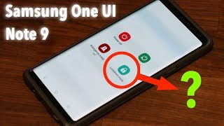 Galaxy Note 9 - Samsung One Ui w/ Android 9.0 Pie - New Features Discovered