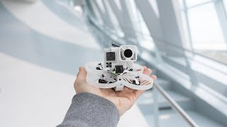 Making Of Mercedes-Benz Museum with fpv-drones