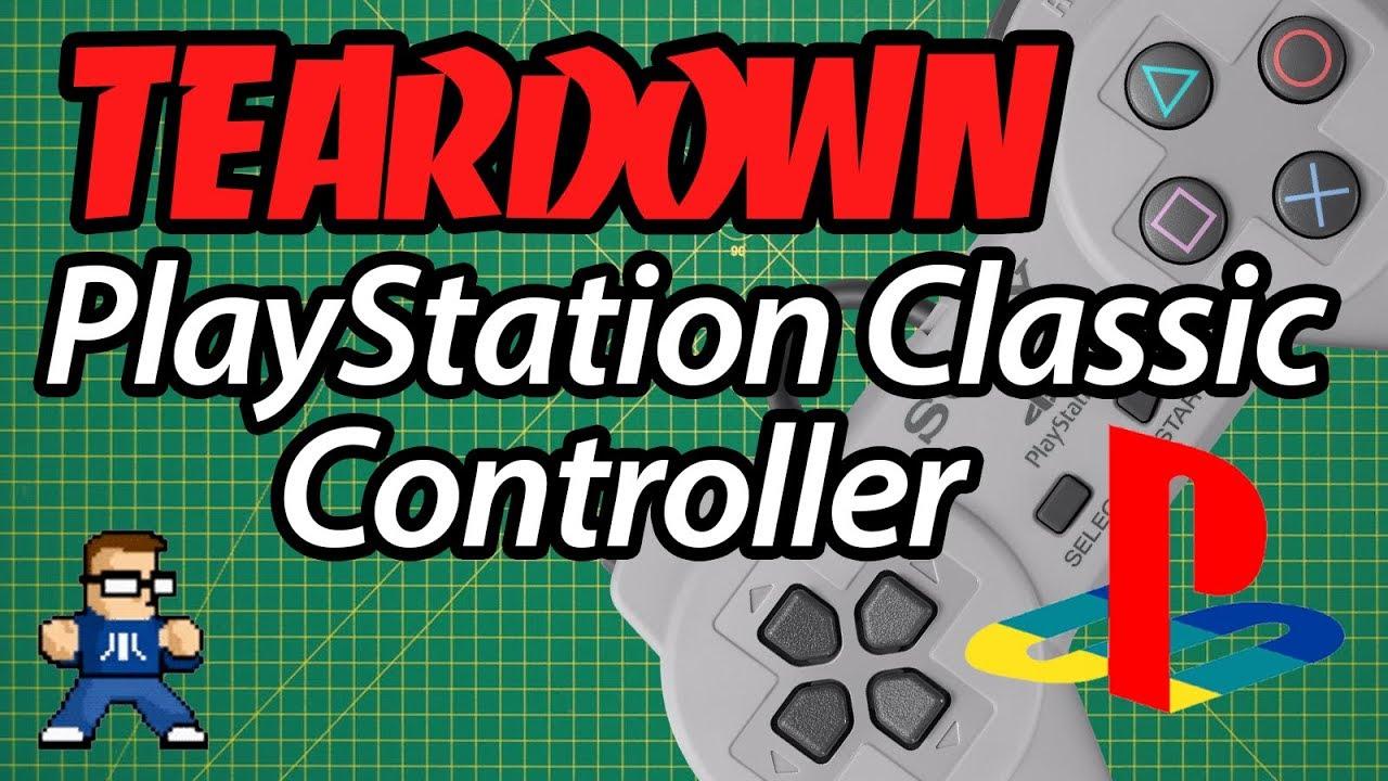 PlayStation Classic Controller Teardown