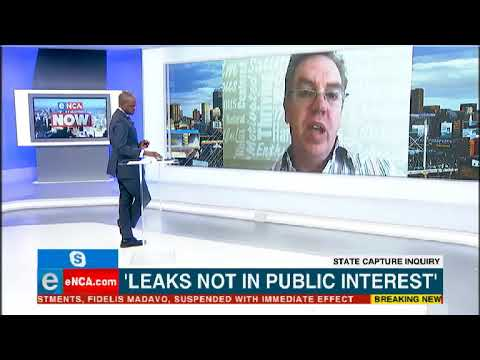Zondo slams leaks from commission