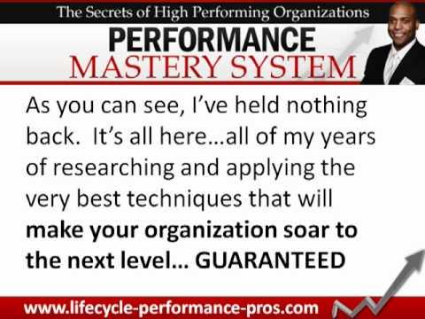 Victor Holman – Performance Mastery System – Business Performance Success – Performance Management