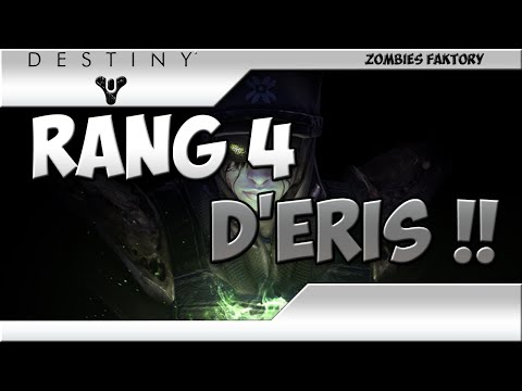 comment augmenter rang destiny