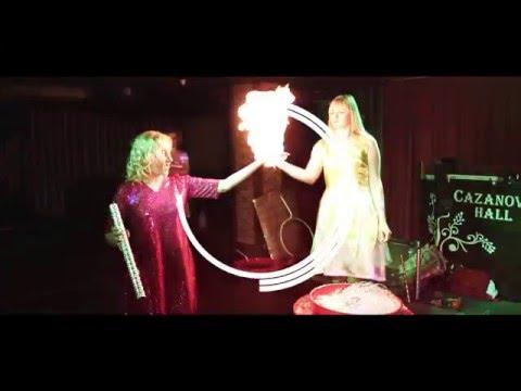 Шоу мильних бульбашок, відео 1